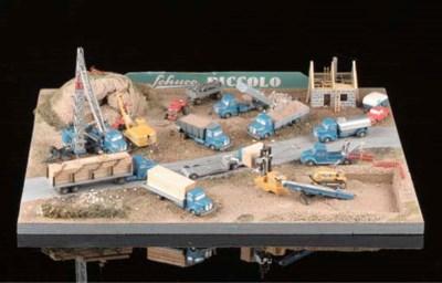 A Schuco Piccolo factory-built
