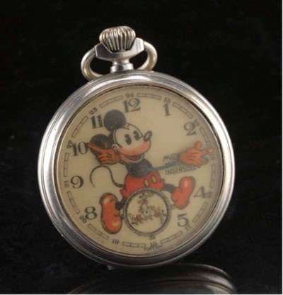 An Ingersoll Mickey Mouse Pock