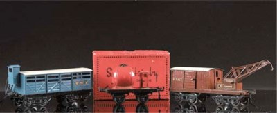 Serie Hornby two and four-axle