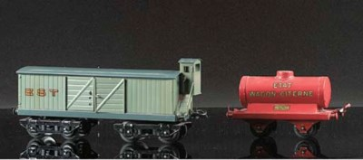 Serie Hornby French four and t