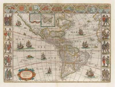 BLAEU, Willem (1571-1638).  Am