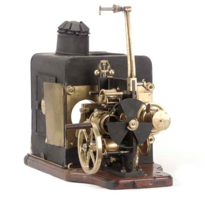 Combination cinematograph and