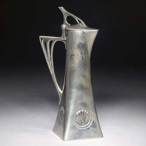 A WMF silvered metal liqueur j