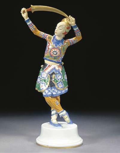 'Chinese' (Tschaokiun Sword Da