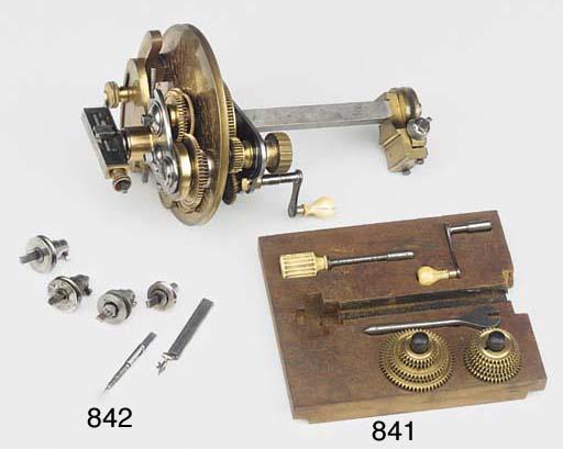 Three miniature drill spindles