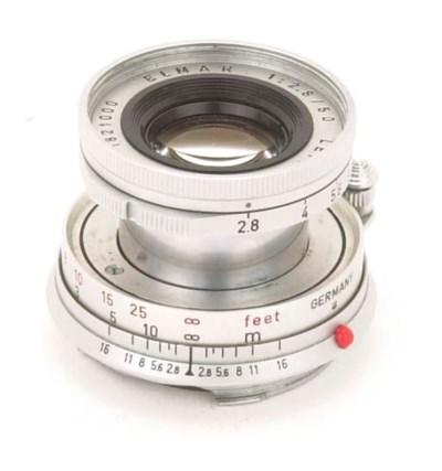 Elmar f/2.8 50mm. no. 1821000