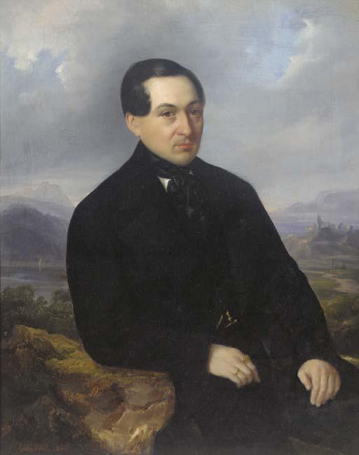Carl Vogl, circa 1850