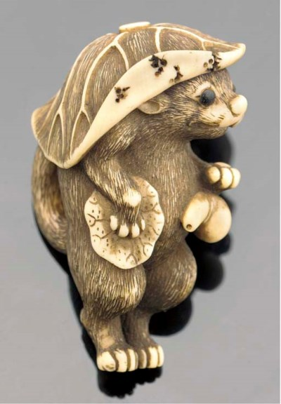 An ivory netsuke 19th century