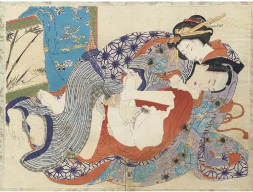 A shunga album 19th century