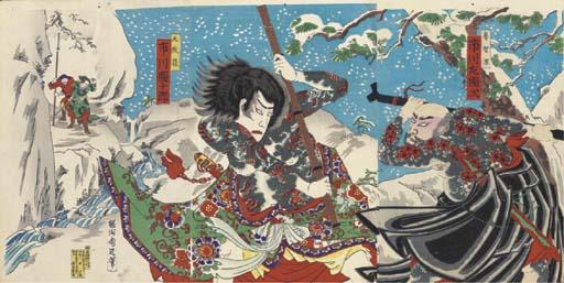 Kunisada, a quantity of oban a