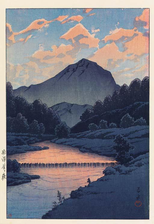 Kawase Hasui (1883-1957) Two w
