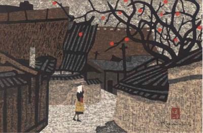 Kiyoshi Saito (1907-1997) Thre