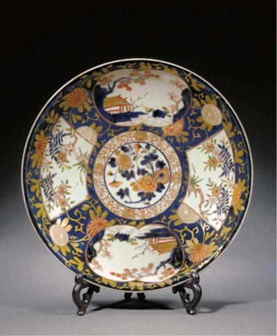 An Imari circular dish Early 1