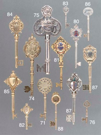 Six Various Silver and Metalwa