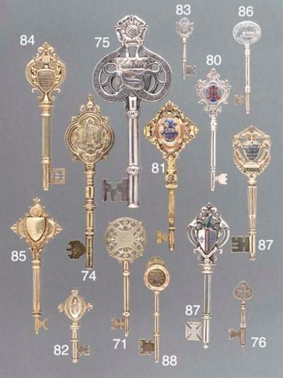 Seven Various Silver Presentat