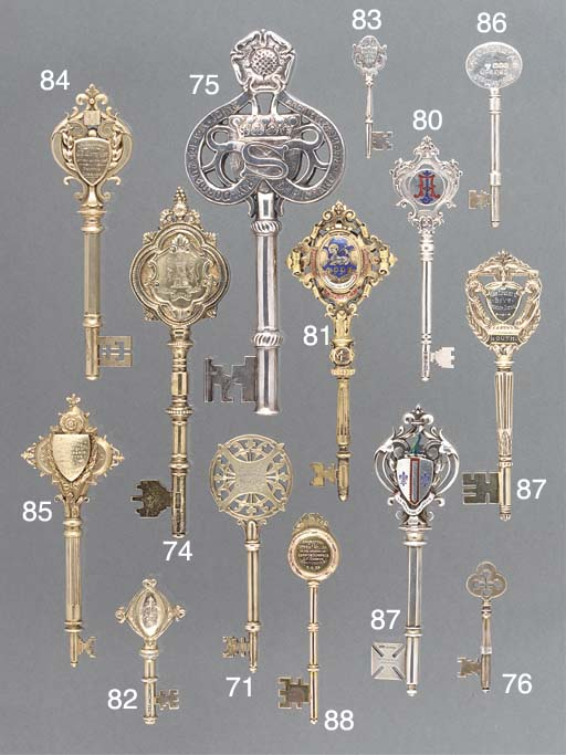 Six Various Silver and Silver-