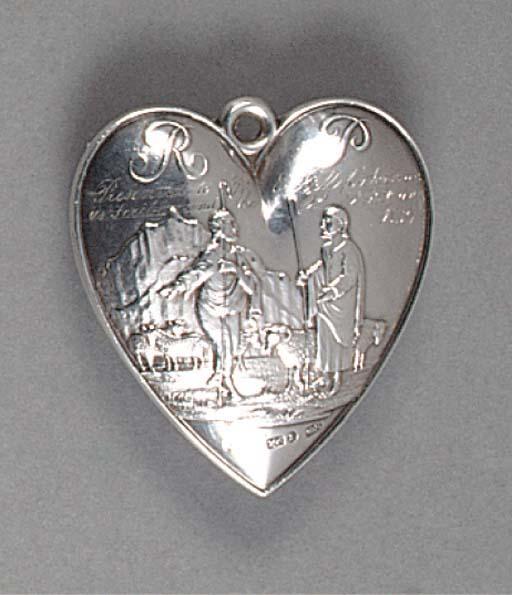 A William IV Silver Badge