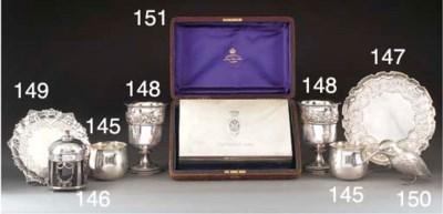 A Victorian Silver Cigar Box