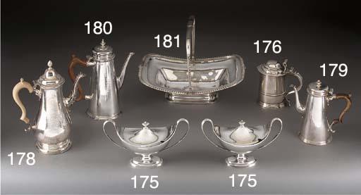 Two George III Silver Sauce Tu