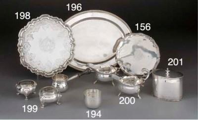 A Pair of George II Silver Sal