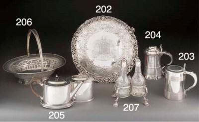 A George III Silver Teapot, Te