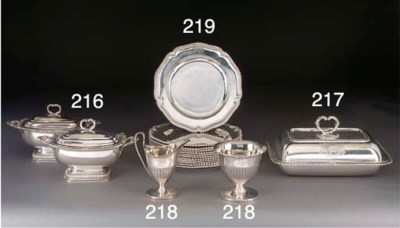 A George III Silver Cream and