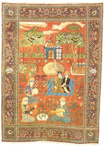 A fine Khoy Meshed rug, North-