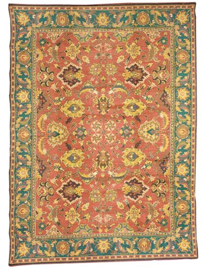 A fine European carpet, possib