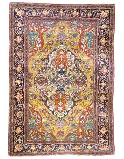 A fine Isfahan rug, Central Pe