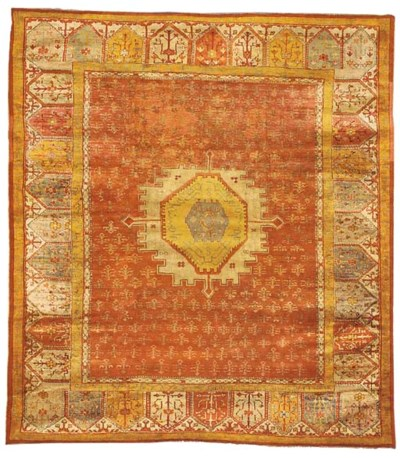 An antique Ushak carpet, Turke