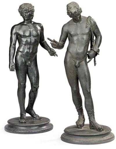 A Neapolitan bronze model of N