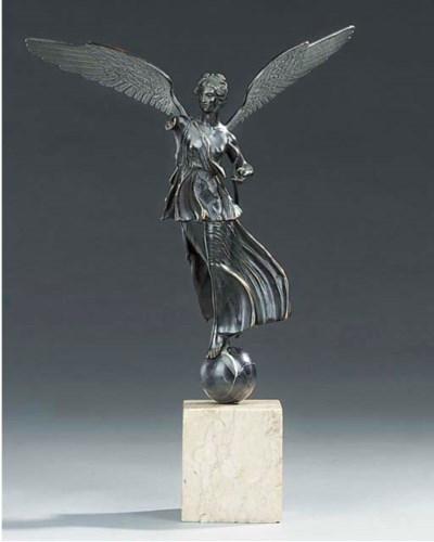 A Neapolitan bronze model of a
