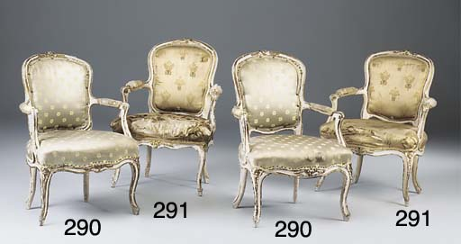 A PAIR OF LOUIS XV LATER DECOR
