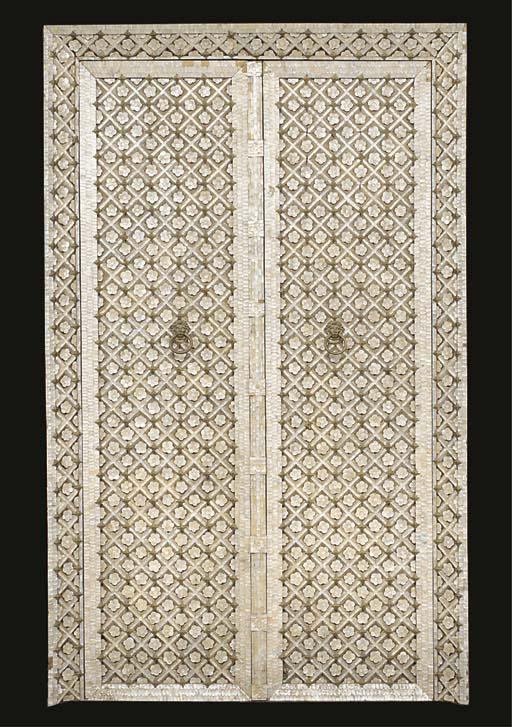 A pair of Moorish mother-of-pe