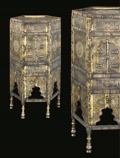 A pair of hexagonal Cairoware