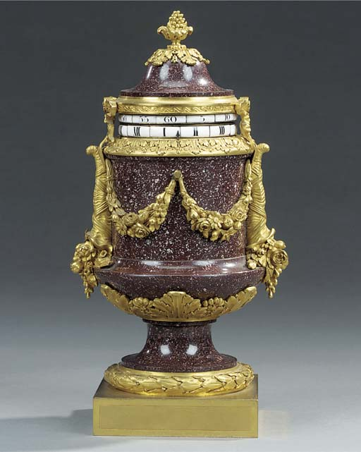 A French porphyry and ormolu m