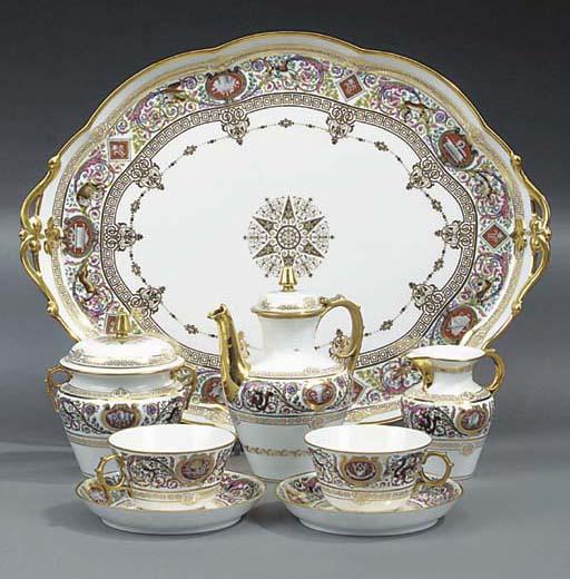 A Paris porcelain coffee servi