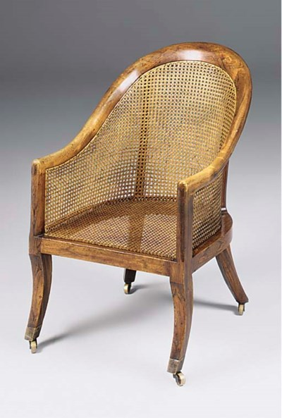 A REGENCY SIMULATED ROSEWOOD B