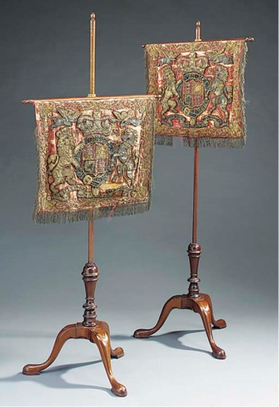 A pair of Victorian mahogany a