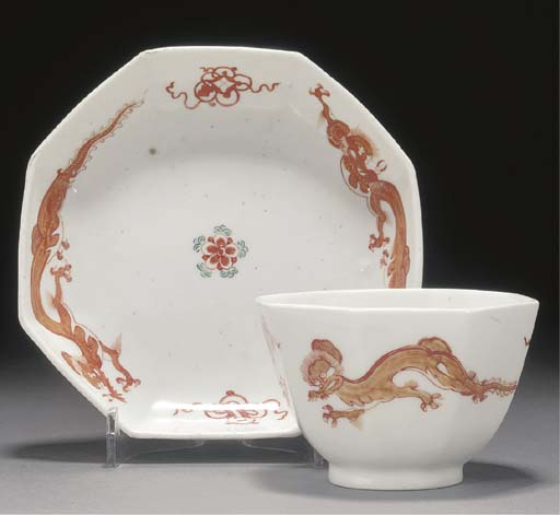 A Chelsea Kakiemon teabowl and