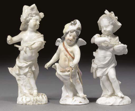 A Berlin (Wegely) figure of Cu