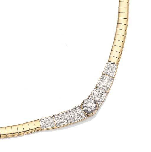 A DIAMOND AND GRADUATED PANEL