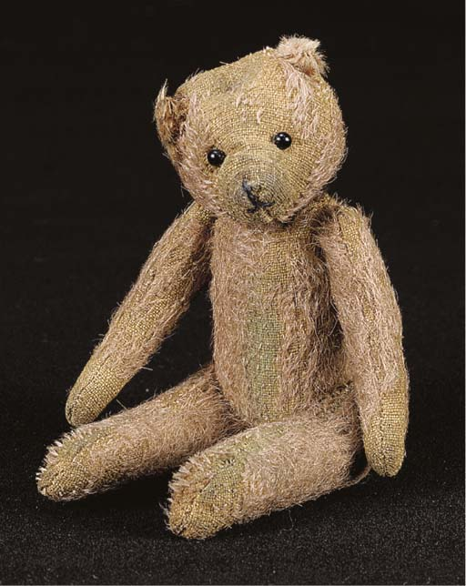 An early miniature British ted