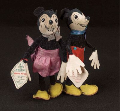 Dean's Rag Book Co. Mickey and
