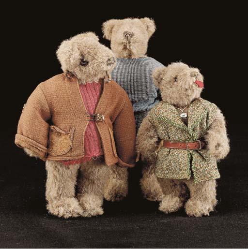 G.H. French Toys teddy bears