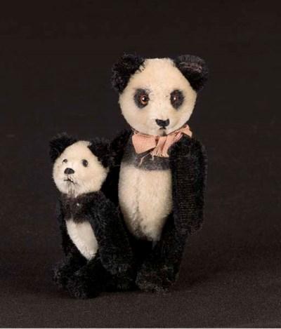 A Schuco yes/no Panda