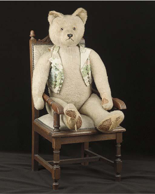 A large British teddy bear