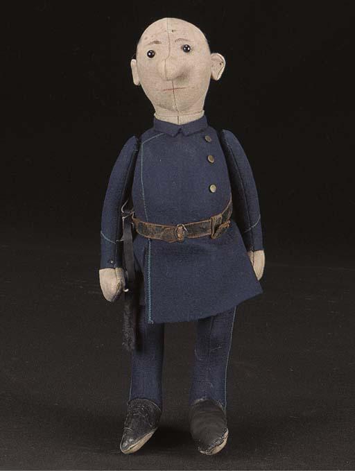 A Steiff Policeman