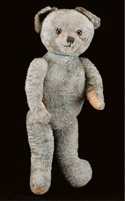 A British blue teddy bear