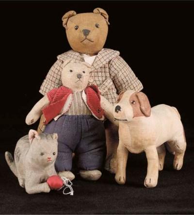 A cotton teddy bear